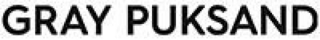Gray Pucksand Logo